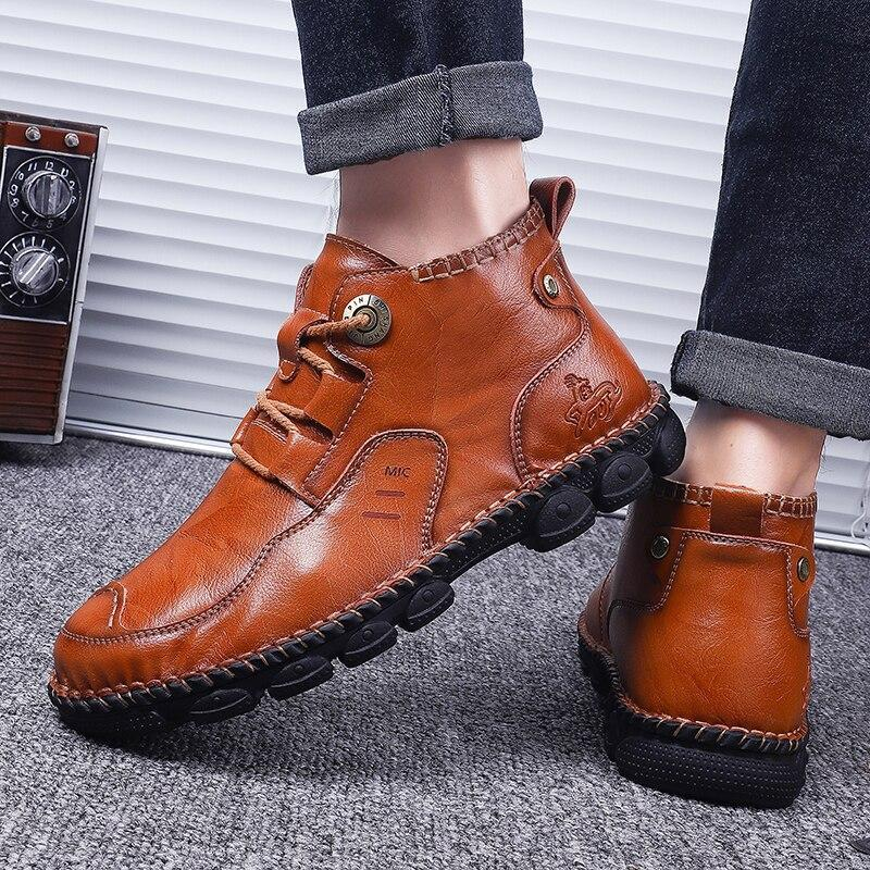 Milan Men's Ankle Boots-Shoes-LeStyleParfait.Com