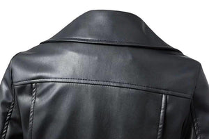 Motorcycle Leather Jacket For Women-Jacket-LeStyleParfait.Com