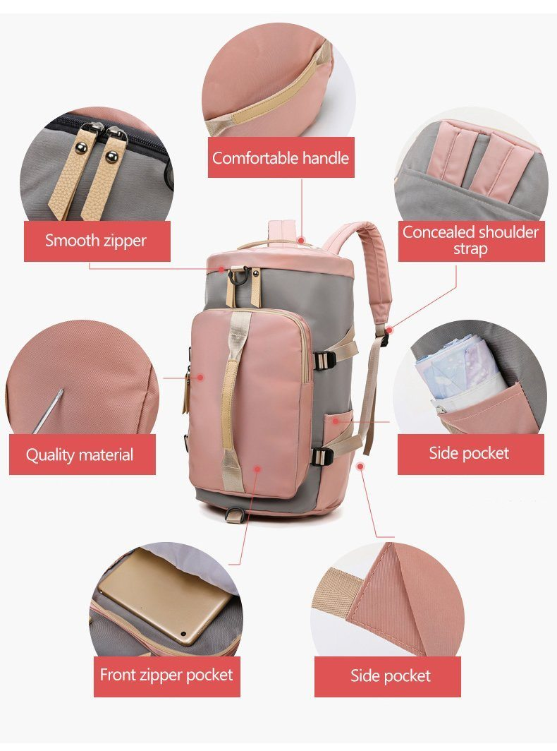 Multipurpose Women Fitness Backpack-Backpack-Online-LeStyleParfait.Com