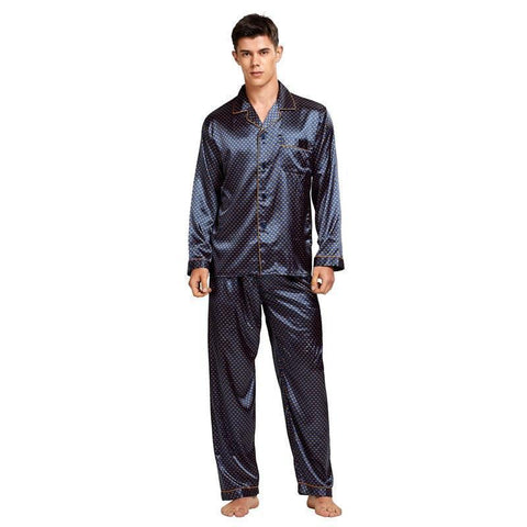 Need Clarity Men's Pajama Set-Men's Sleepwear-LeStyleParfait.Com