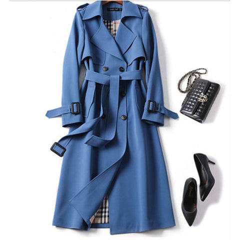 Oxford Trench Coat For Women Coat LeStyleParfait.Com
