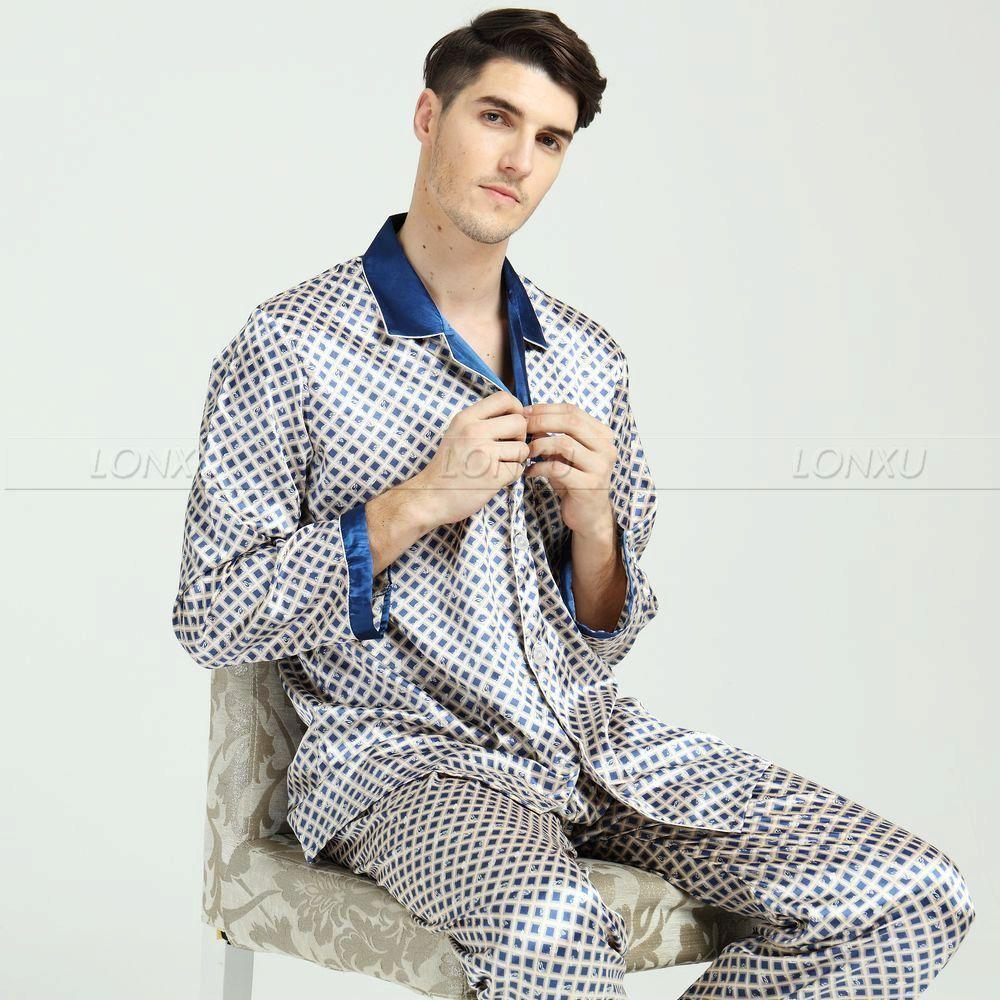 Polka Dot King Mens Pyjama Set-Men's Sleepwear-LeStyleParfait.Com
