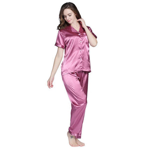 Ready And Steady Women's Pajama Set-Women Sleepwear-LeStyleParfait.Com