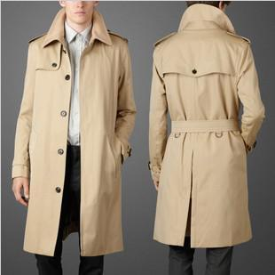 Runway Trench Coat For Men-Coat-LeStyleParfait.Com