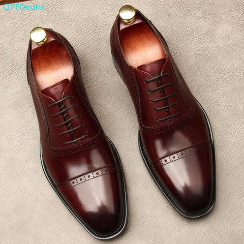 Russo Luxurious Oxford Shoes For Men-Shoes-Online-LeStyleParfait.Com