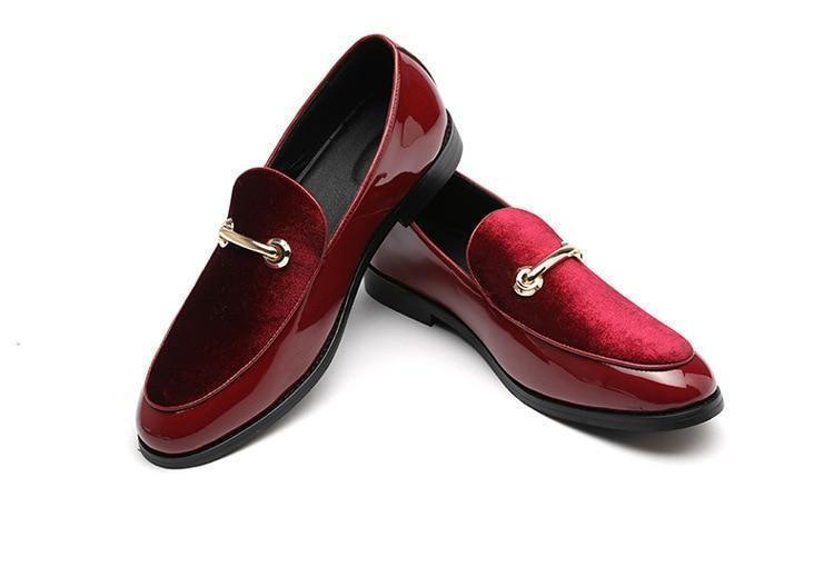 Shining Step Leather Shoes-Shoes-LeStyleParfait.Com