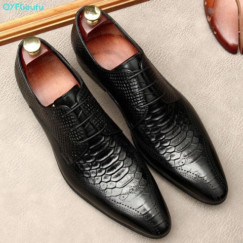 Silvio Serpentine Men's Dress Shoes-Shoes-Online-LeStyleParfait.Com
