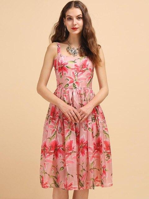 Simply Chic Floral Midi Dress-Dress-LeStyleParfait.Com