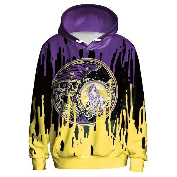 Street Fashion 3D Hoodie UNISEX-Hoodies-Sweatshirts-Online-L-Purple Yellow-LeStyleParfait.Com