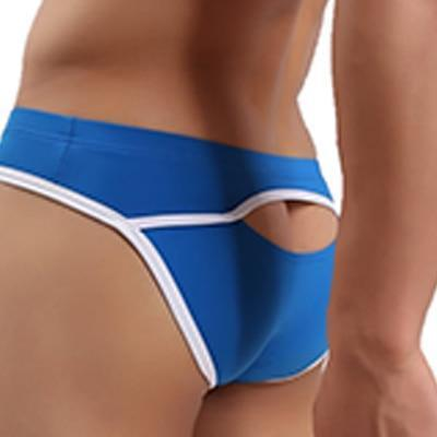 Swimwear - Men's Swim Briefs, Low Waist Trunks-Swimwear-LeStyleParfait.Com