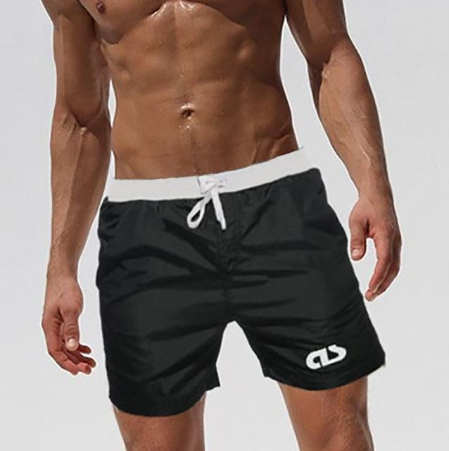 Swimwear - Men's Swim Trunks, Surf Beach Shorts-Swimwear-LeStyleParfait.Com
