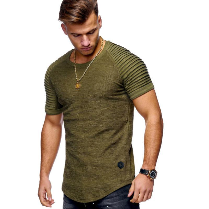 T-Shirt, Men's Summer Short-Sleeve T-Shirts-LeStyleParfait.Com