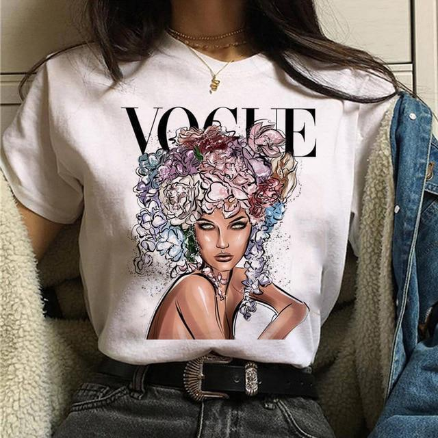 T-Shirt-Vogue Princess T-Shirt-T-Shirts-Women-LeStyleParfait.Com
