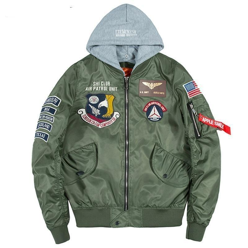 Take Flight Bomber Jacket-Jacket-LeStyleParfait.Com