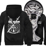 The Sword- Men's Winter Hoodie-Hoodies-Sweatshirts-Online-black 1-XL-LeStyleParfait.Com