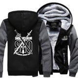 The Sword- Men's Winter Hoodie-Hoodies-Sweatshirts-Online-dark gray black-XL-LeStyleParfait.Com