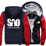 The Sword- Men's Winter Hoodie-Hoodies-Sweatshirts-Online-red dark blue-XL-LeStyleParfait.Com