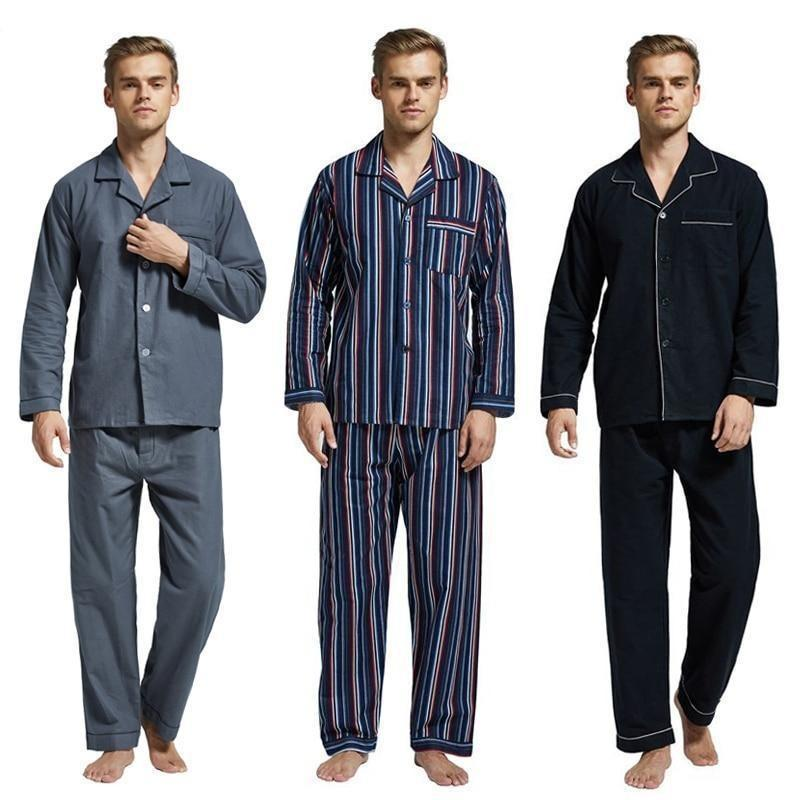 Too Tempting Men's Pajama Set-Men's Sleepwear-LeStyleParfait.Com