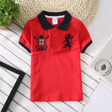 Victory Kids Polo Shirts T-Shirts LeStyleParfait.Com Red 24M