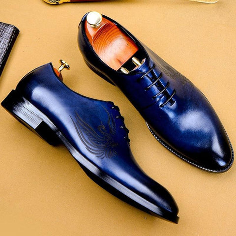 Vittorino Men's Dress Leather Shoes-Shoes-Online-LeStyleParfait.Com