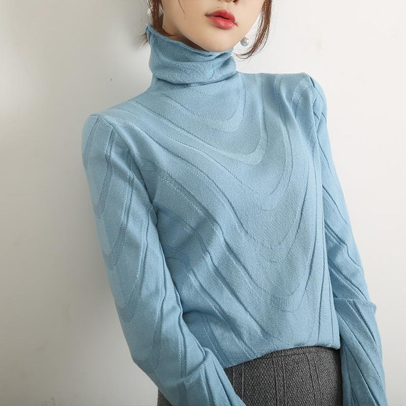 Warm Up Turtleneck Sweater - Women's Pullovers Online-LeStyleParfait.Com