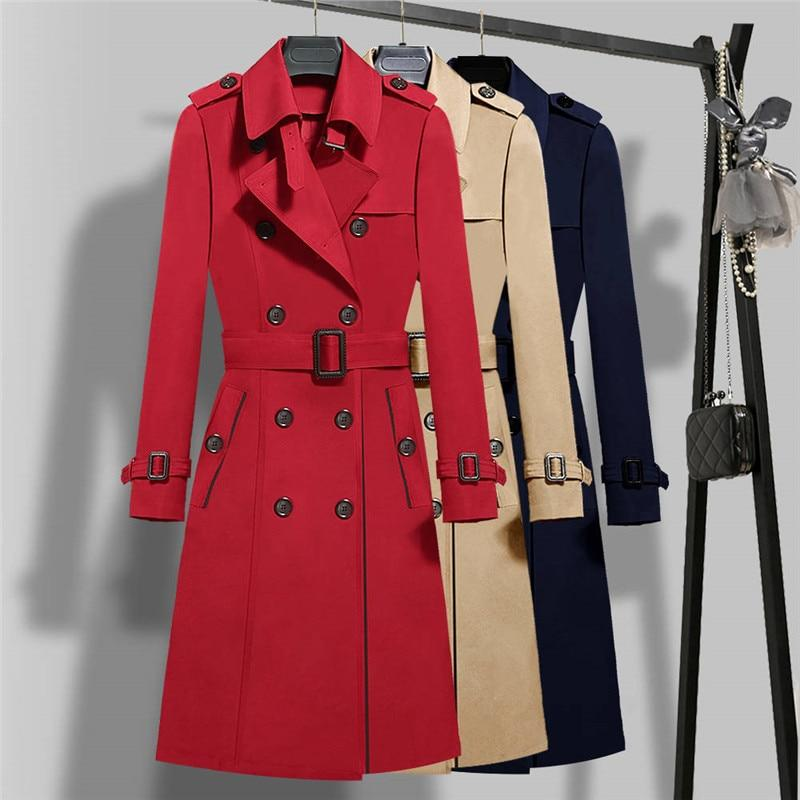 Washington Trench Coat For Women-Coat-LeStyleParfait.Com