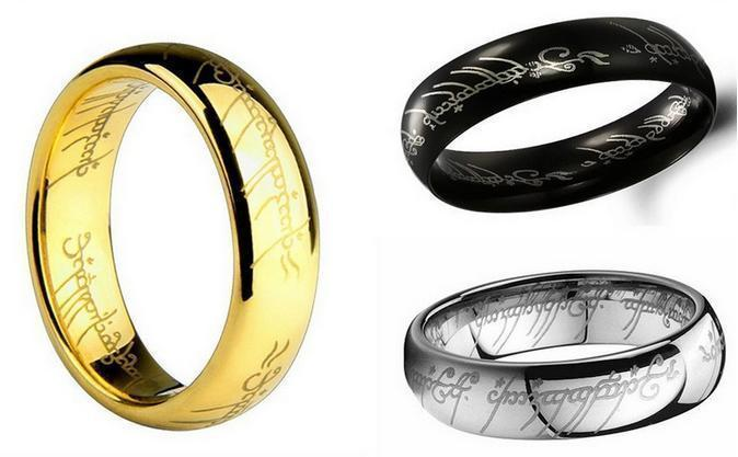 Wedding Jewelry Titanium Steel Lord of the Rings-Rings-LeStyleParfait.Com