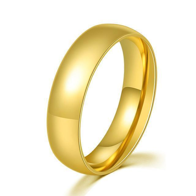 Wedding Rings Couple Engagement Rings Gold-Rings-LeStyleParfait.Com