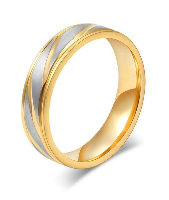 Wedding Rings Gold Wedding Jewelry-Rings-LeStyleParfait.Com