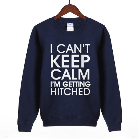 Women Sweatshirt I Can't Keep Calm Print Sweatshirt-Women Sweatshirt-LeStyleParfait.Com