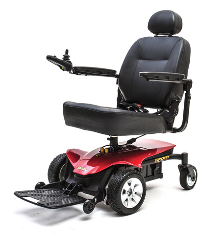 Pride Jazzy Elite ES Portable Power Chairs