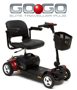 Pride Go-Go Elite Traveller Plus 4 Wheel Scooter