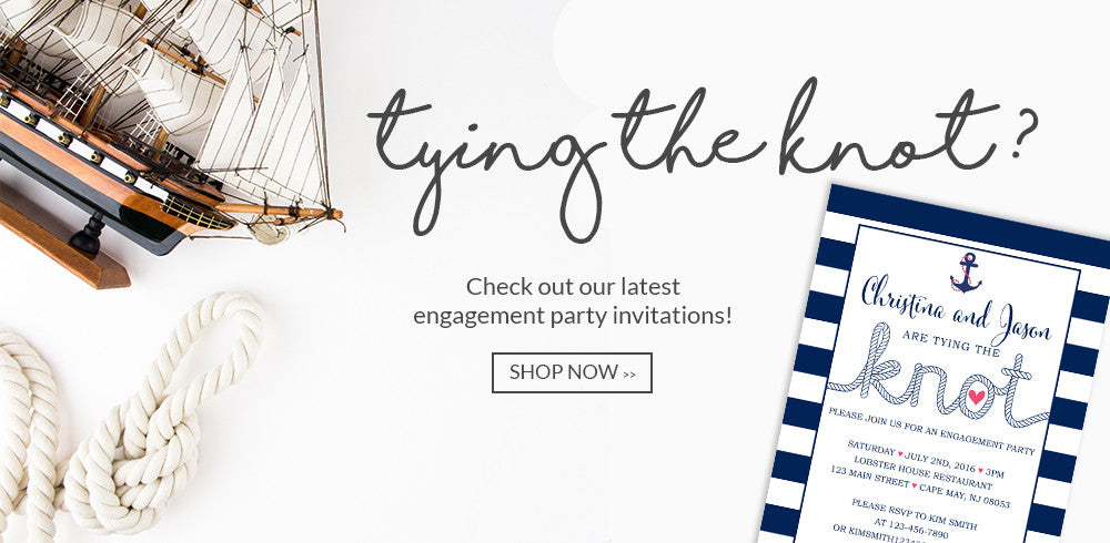 Affordable Engagement Party Invitations