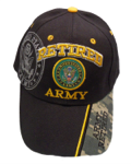 Army Retired Baseball Cap