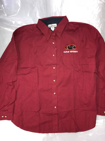 Maroon Claflin Button Down Shirt