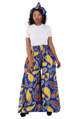 African wide pants