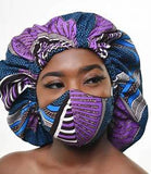 Mask African print