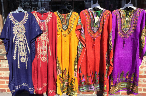 Long Women's DashikiDresses