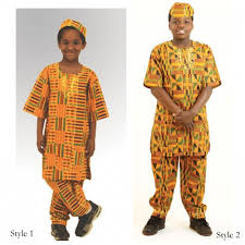 Kid's Dashiki Set