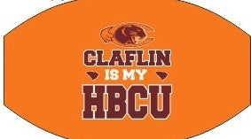 Claflin University Mask