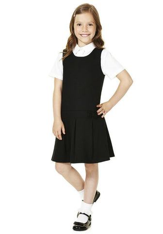 Girl's School Uniform Jumper Dress