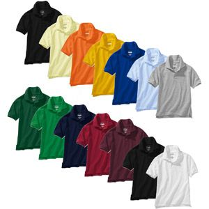 Short Sleeve Uniform Polo Shirts