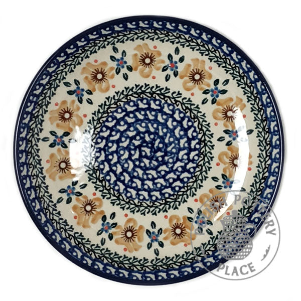 "Salad Plate - 8"" - Polish Pottery"