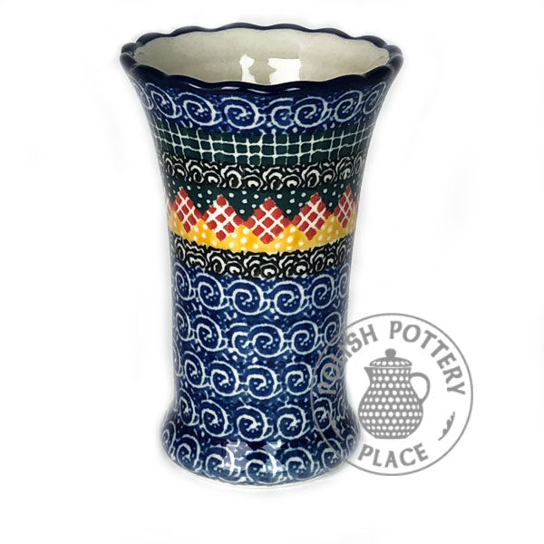 Lace Vase - Polish Pottery