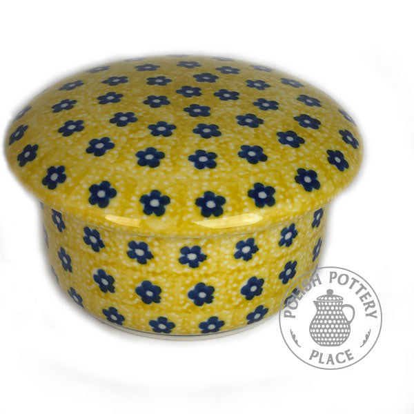 Round Box - Polish Pottery
