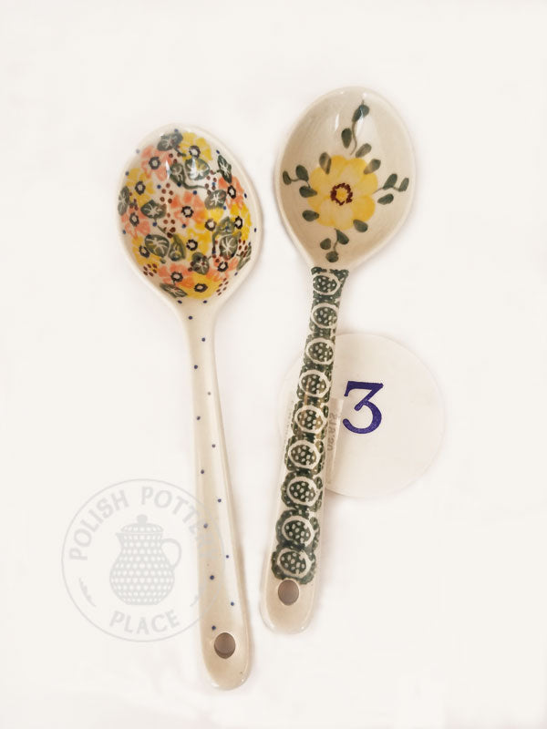 Soup Spoon Set - Polish Pottery