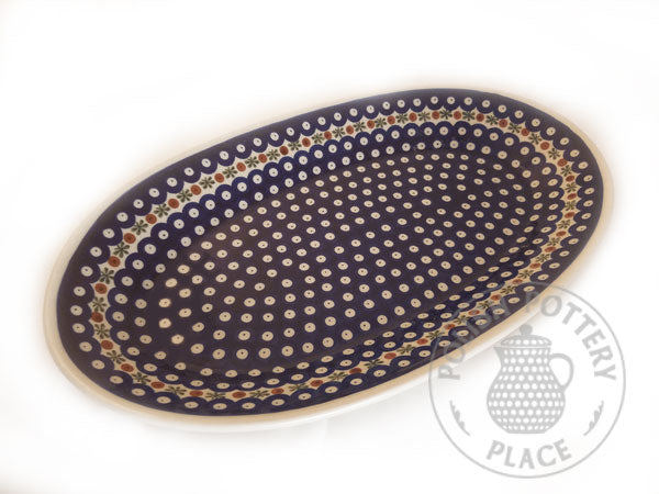 "18"" Oval Platter - Polish Pottery"