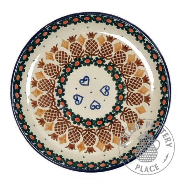 "Bread & Butter Plate - 6"" - Polish Pottery"