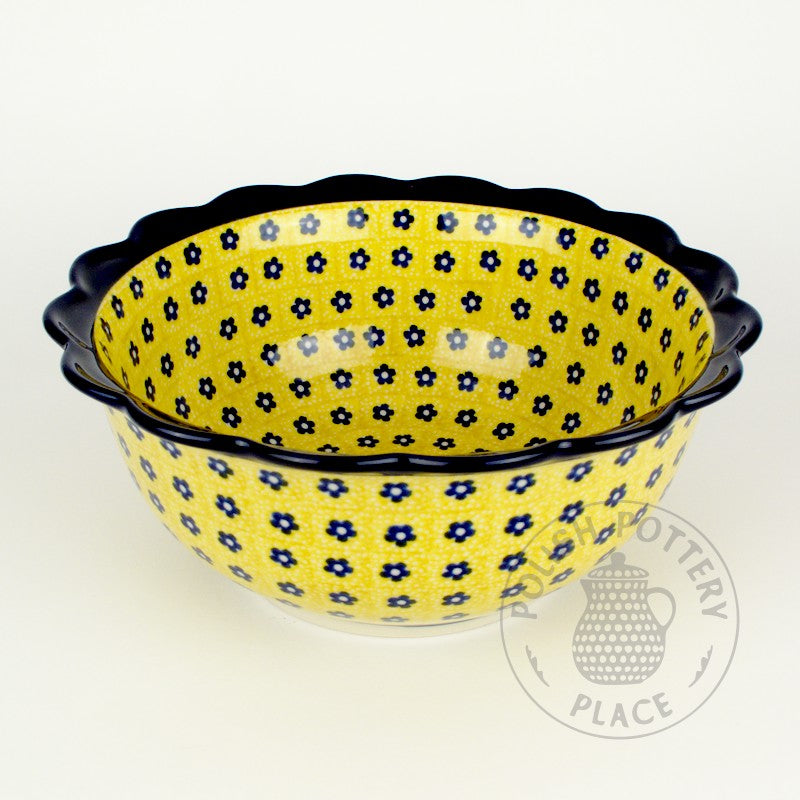 Lace Bowl - Swedish Meadow