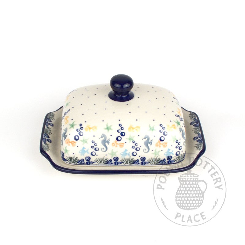 Large Butter Dish - Under the Sea